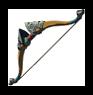 Epées, boucliers et arcs à obtenir en début de partie