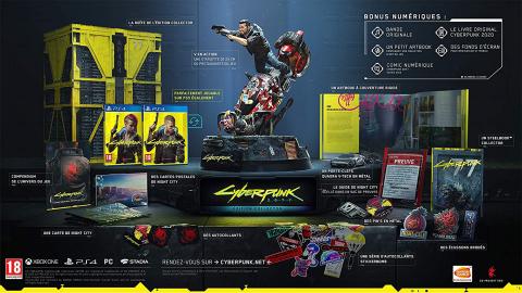 Bon plan Collector : l'édition collector de Cyberpunk en réduction à -36%
