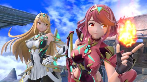 Super Smash Bros. Ultimate : le DLC Pyra/Mythra présenté en détail (date de sortie, gameplay...)