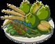 Les autres plats aux légumes