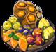 Les autres plats aux fruits