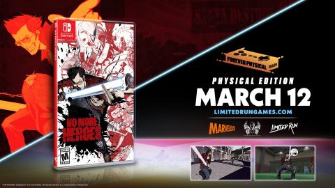 No More Heroes 1 & 2 s'offrent des éditions physiques limitées sur Switch