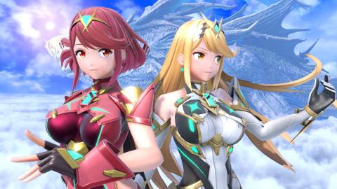 Super Smash Bros. Ultimate : Nos impressions sur Pyra et Mythra !