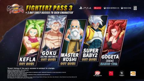 Dragon Ball FighterZ : Gogeta SSJ4 prépare son arrivée