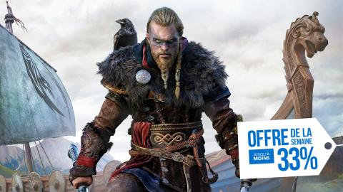 PlayStation Store : Assassin's Creed Valhalla à -33% avec l'offre de le semaine !