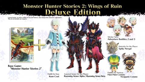 Monster Hunter Stories 2 dévoile sa date de sortie et s'annonce sur PC