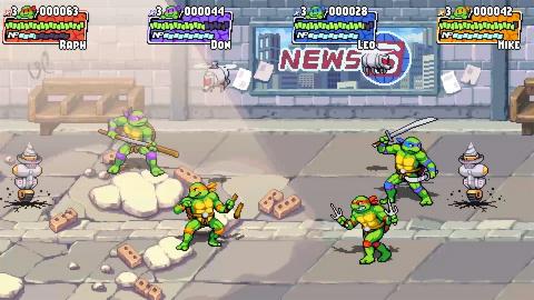 Dotemu (Streets of Rage 4) s'attaque aux Tortues Ninja avec Teenage Mutant Ninja Turtles : Shredder's Revenge
