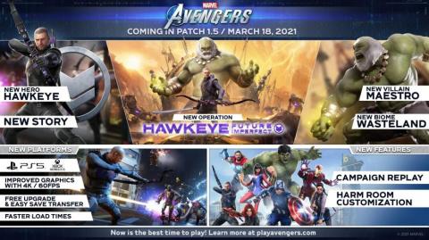 Marvel's Avengers : La campagne principale sera bientôt rejouable