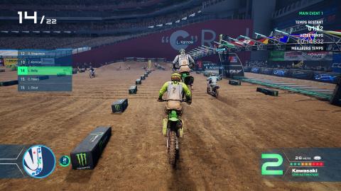 Monster Energy Supercross 4 : La version ONE et PS4 en-dessous graphiquement