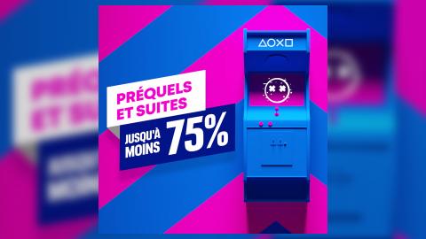 PlayStation Store : Les Préquels et Suites en promotion jusqu'à -75% !