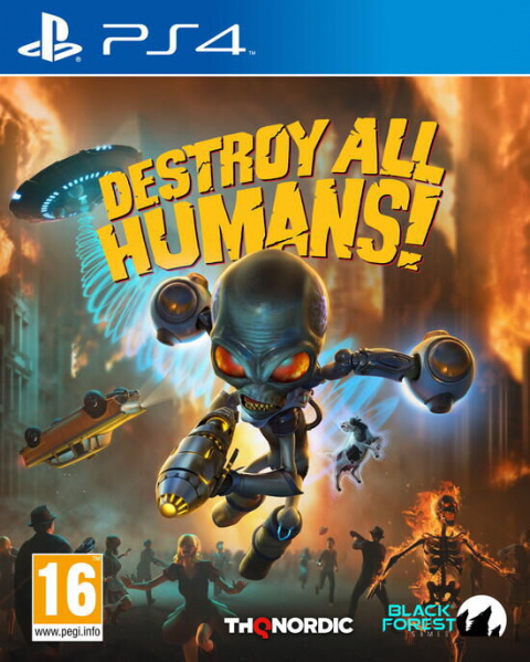-50% de réduction sur Destroy All Humans!