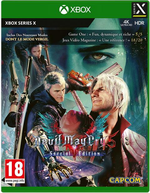 Bon plan Capcom : réduction sur Devil May Cry 5 Special Edition sur Xbox Series X