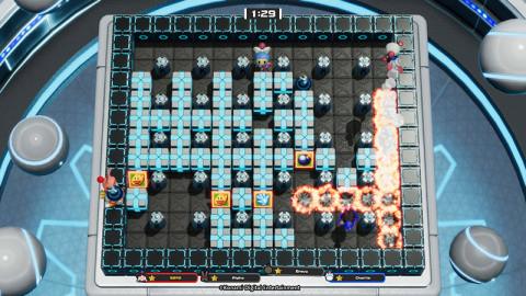 Super Bomberman R Online daté sur PC, PS4 et Switch en compagnie d'un battle pass