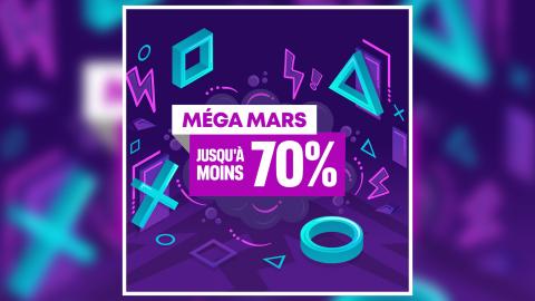 PlayStation Store : Faites le plein de jeux à petits prix avec la promo Méga Mars !