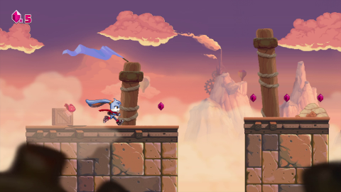 Kaze and the Wild Masks : Un platformer 2D à la sauce 90's solide mais classique