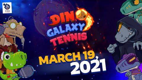 Dino Galaxy Tennis sur PC