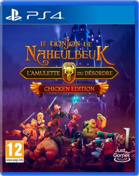 Précommandes ouvertes pour le Donjon de Naheulbeuk : l'Amulette du Désordre Chicken Edition