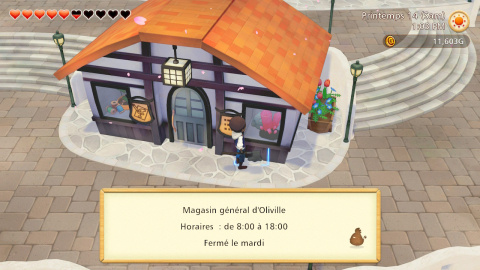 Le magasin général d'Oliville