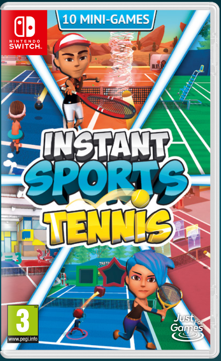 INSTANT SPORTS Tennis sur Switch
