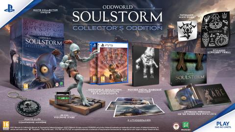 Oddworld : Soulstorm dévoile la figurine de son édition collector