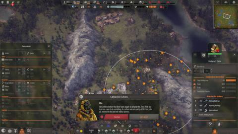 Endzone - A World Apart : un bon jeu de gestion entre Frostpunk et Banished