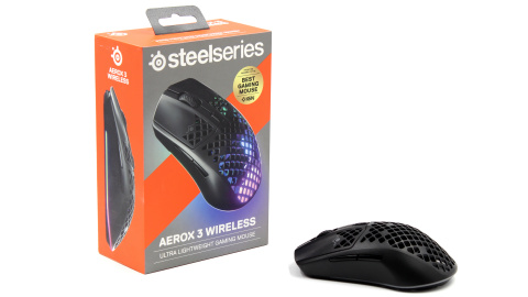 Test Steelseries Aerox 3 Wireless : Une souris gamer pleine de trous ?