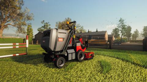 Lawn Mowing Simulator : le jeu de tondeuses à gazon annonce sa date de sortie dans un trailer aiguisé