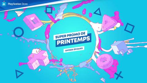 PS Store : les bons plans bourgeonnent avec la Super Promo de Printemps