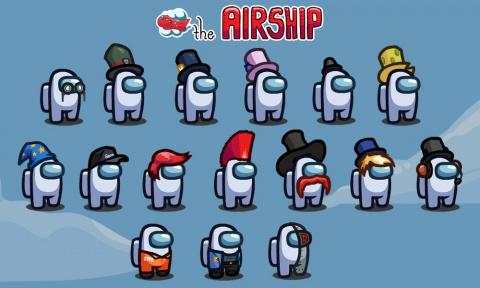 Among Us, Airship : La nouvelle carte est arrivée !