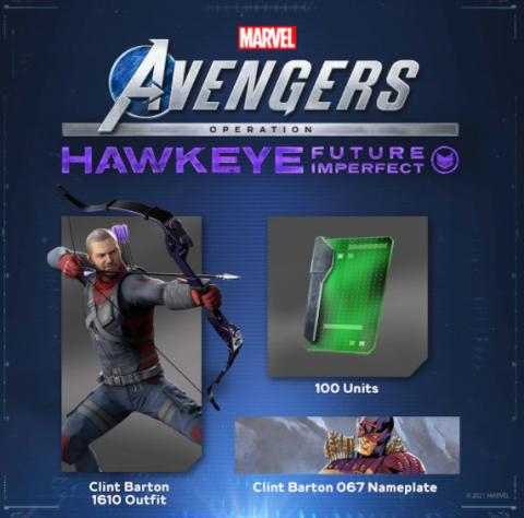 Marvel's Avengers - Hawkeye a droit à un pack gratuit sur PS4 et PS5