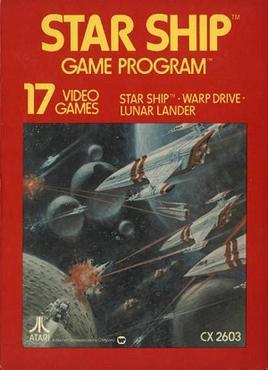 Star Ship sur VCS