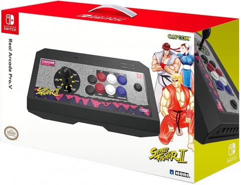 Les sticks Real Arcade Pro V Hori Nintendo Switch sont en promotion
