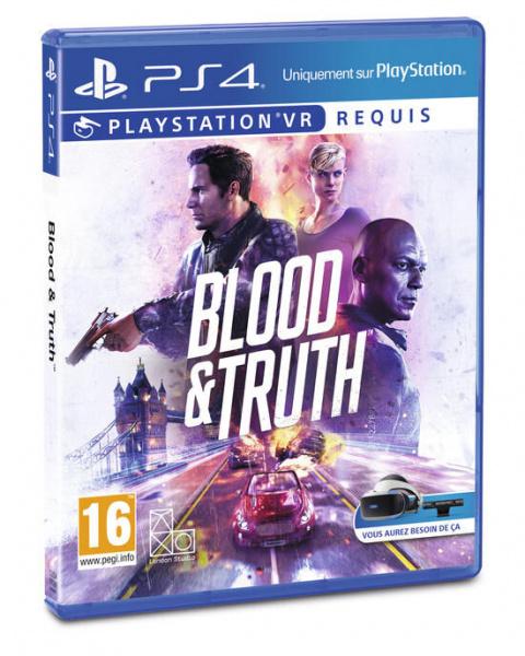 Playstation VR : -50% sur Blood And Truth, le Thriller de la Réalité Virtuelle