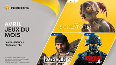 PlayStation Plus : Les jeux inclus en avril sont là !