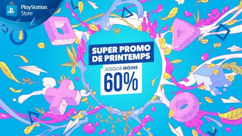 PlayStation Store : Jusqu'à -90% avec la Super Promo de Printemps !