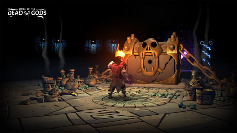 Dead Cells s'incruste dans le roguelike Curse of the Dead Gods