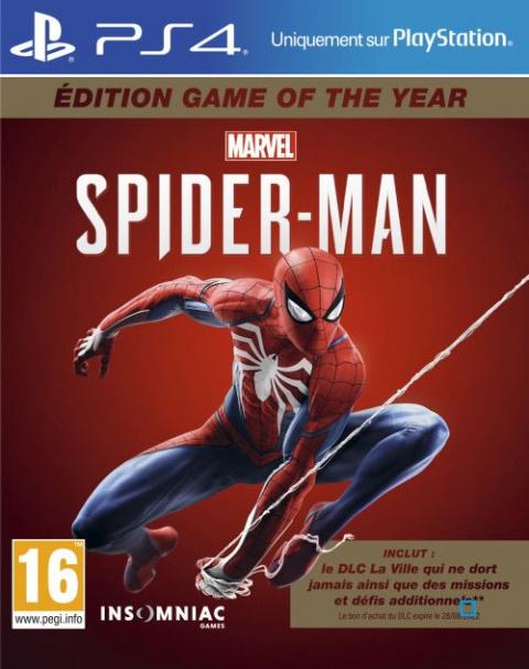 Dans la toile de la promo : Marvel's Spider-Man édition GOTY à -40%