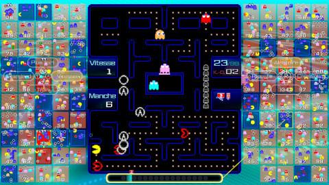 Pac-Man 99 sur Switch : Un Battle Royale plus intense que jamais