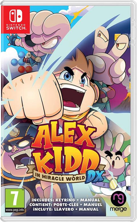 Alex Kidd in Miracle World DX : précommandez le titre sur Amazon au meilleur prix