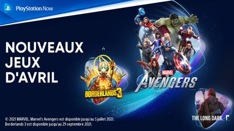 PlayStation Now : Découvrez les nouveautés d'avril en vidéo !