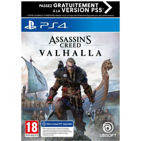 Assassin's Creed Valhalla en promo à moins de 45€
