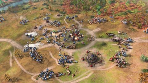 Age of Empires 4 : Romains et Rus s'affrontent dans une partie multi complète !
