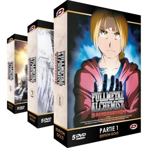Fullmetal Alchemist : l'intégrale en version Gold à -45%