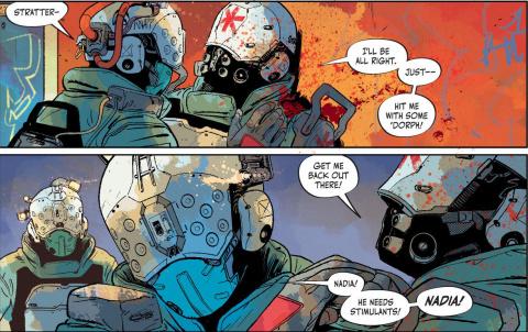 Cyberpunk 2077 Trauma Team : Un excellent comics pour explorer l'univers de CD Projekt RED