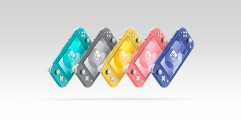 Nintendo : La Switch Lite s'offre un nouveau coloris
