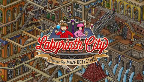 Labyrinth City : Pierre the Maze Detective sur PC