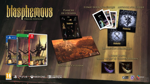 Blasphemous Edition Deluxe : Précommandez-le au meilleur prix du marché