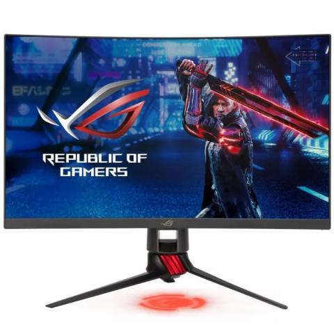 """L'écran PC Gamer Asus ROG 27"""" VA WQHD incurvé en promo à -25%"""