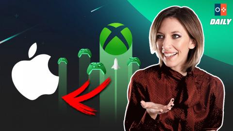 xCloud : les jeux Xbox débarquent chez Apple !
