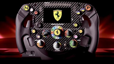 Test du volant Thrustmaster Ferrari SF1000 Edition : La Formule 1 pour de vrai